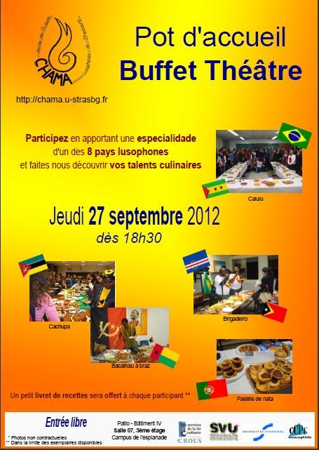 Affiche Pot Accueil Buffet Theatre 2012