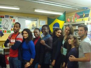 Estudantes lusofonos de Chama