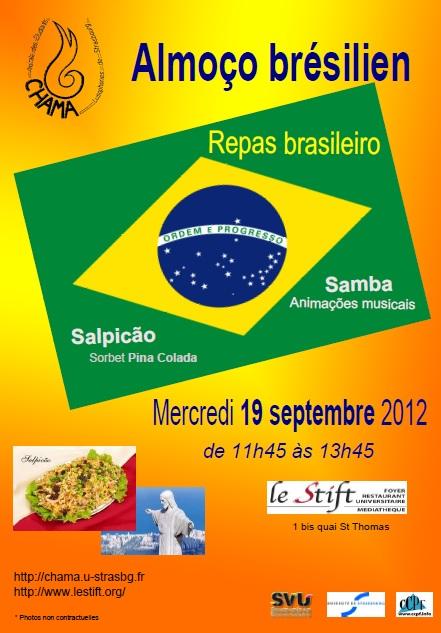 Affiche Repas brasileiro