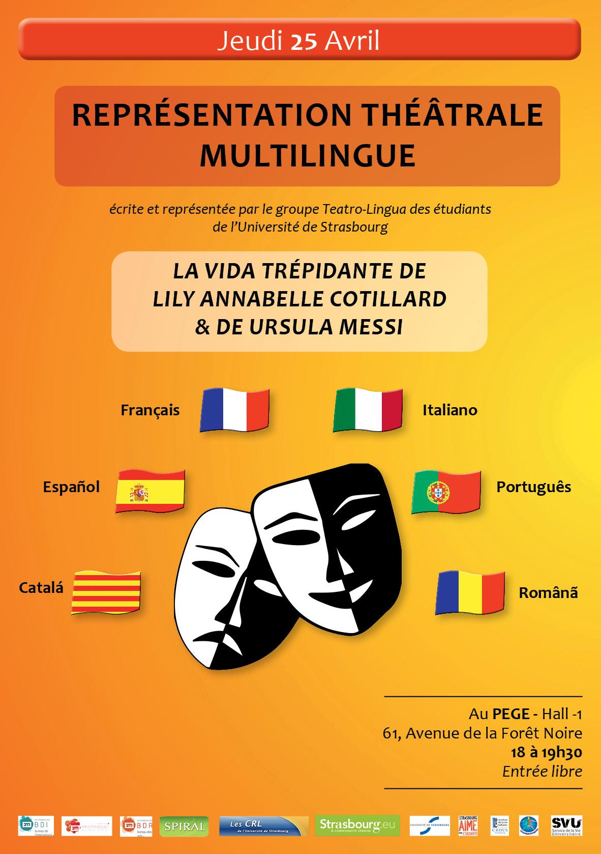 Flyer Teatro-Lingua 2013